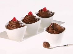 Giada's Chocolate-Avocado Mousse #Healthy #Avocado