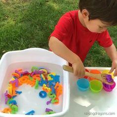 Water Play Activities, Educational Activities For Toddlers, Summer Activities For Toddlers, Sorting Activities, Sensory Activities, Infant Activities, Kindergarten Activities, Play Activity, Fun Games For Kids