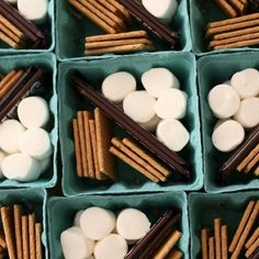 Smore kit. Creating a Stylish Outdoor Party | Creative Home