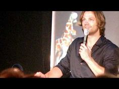this is pretty old, but oh my god i just about died laughing!  >>fanvid of con panel in which Jared Padalecki tells the story of the coin prank which went on between him and Misha Collins
