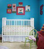 Nursery Ideas that Grow: Bright & Cheery (via Parents.com)