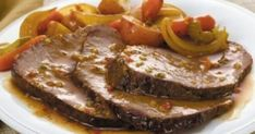 McCormick's Bag 'n Season® Pot Roast Recipe: Savor the homemade taste of tender pot roast and vegetables. The roasting bag makes the clean up quick and easy. Pot Roast Recipes, Cooking Recipes, Easy Recipes, Mini Pains, Low Sodium Recipes, Greek Cooking, Carne Asada, Greek Recipes, No Cook Meals