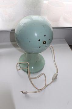 Vintage Tischlampen - Vintage Lampe pastell - ein Designerstück von…