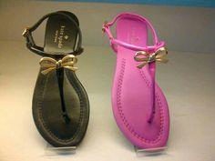 Kate spade tracie sandal Color: black and fuschia Sz 6.5 Last pair