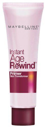 Maybelline New York Instant Age Rewind Primer Skin Transformer, Clear, 0.85 Fluid Ounce (bestseller)