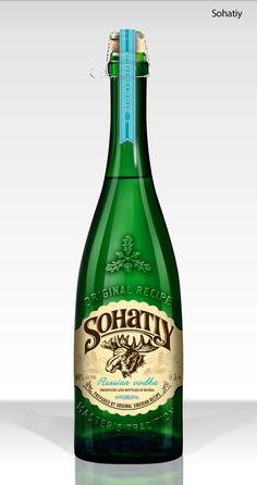 Sohatiy – водка (2) Russian Vodka, The Best, The Originals, Bottle, Drinks, Drinking, Beverages, Flask, Drink