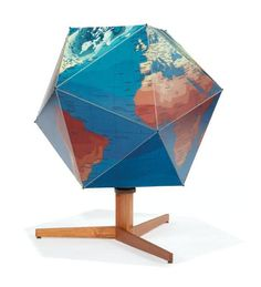 """buckminster fuller """"dymaxion"""" globe - We love maps and globes in our family!!"""