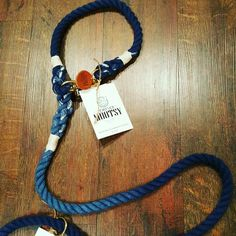 Unique-Stylish-Eco-friendly dog leashes and collars by Forever Mootsy.  100% handmade!