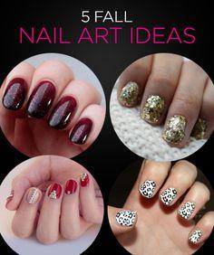 5 Festive Nail Art Ideas for Fall 2013