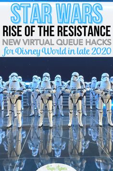 A new virtual queue for Star Wars: Rise of the Resistance is coming to Walt Disney World's Hollywood Studios. Find out all the new hacks and boarding group strategies that work to improve your chances to ride under the new system coming November 3, 2020. Disney World Hollywood Studios, Walt Disney World Orlando, Disney World Secrets, Disney World Rides, Disney World Tips And Tricks, Disney Tips, Disney Vacation Planning, Disney World Planning, Disney Cruise