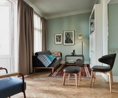 Hotel St George, is set in an imposing edifice built in the in Helsinki. The seven-storey building has now been restored into a sleek hotel. Helsinki, Brass Floor Lamp, Selling Furniture, Alvar Aalto, Shop Interiors, Shop Interior Design, Interior Inspiration, Serenity, Living Spaces