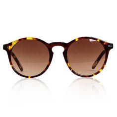 Tortoiseshell Clark Sunglasses by Sons + Daughters Eyewear - Junior Edition www.junioredition.com
