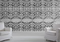 White Cast Iron Lace - Monument Interiors