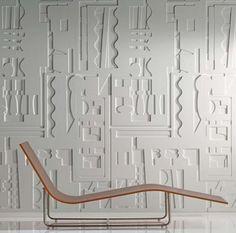 Habillage de mur, tête de lit, personnalisation de meuble, ... un grand nombre de possibilités s'offrent à vous avec les panneaux décors 3D ! Panneau Mural 3d, Decoration, Divider, Room, Furniture, Home Decor, Wood Interiors, Wall Signs, Wall Art