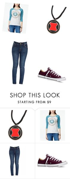 """Marvel Girl"" by princess-accitia on Polyvore featuring Hybrid, Converse, women's clothing, women's fashion, women, female, woman, misses and juniors"