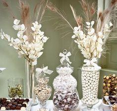 candy & dessert bar  natural theme     #dessert  #bar