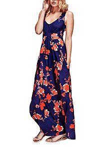 Empire Line Jersey Maxi Dress