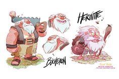 . O francês Fabien Mense, além de talentoso artista, é autor dos Comic Books Agito Cosmos e The Tikitis, e também trabalha como visual development artist para a área de animação (Sony Animation, Marathon Media, Method Animation).  Fabien ainda faz parte do Catfish Deluxe, um grupo de artistas focados na criação de arte para projetos especiais de animação e games.