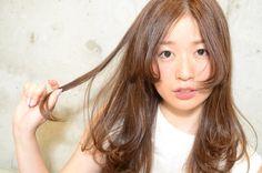 【ロングヘア向け】くるんっ♡とワンカールパーマで毛先に女らしさを   HAIR