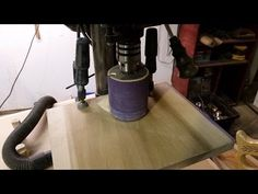 Home made Sanding Spindle for my drill press - YouTube