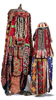 Africa | Egùngùn, Yoruba masquerade garment, Yorubaland, Nigeria | c. 1950's onwards. | Mixed media.