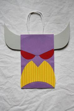 Zurg Goody Bag! Birthday Pins, 4th Birthday Parties, 3rd Birthday, Birthday Ideas, Toy Story Party, Toy Story Birthday, Goody Bags, Party Favor Bags, Party Themes