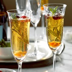 Champagne Cocktail Recipe -This amber drink is a champagne twist on the traditional old-fashioned. Try it with extra-dry champagne. —Taste of Home Test Kitchen, Milwaukee, Wisconsin Martini Recipes, Cocktail Recipes, Drink Recipes, Margarita Recipes, Punch Recipes, Party Recipes, New Recipes, Dinner Recipes, Champagne Cocktail