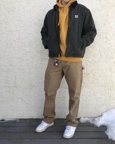 Mode Outfits, Retro Outfits, Fashion Outfits, Men Fashion, Mens College Fashion, Korean Fashion Men, Urban Fashion, Fashion Styles, Winter Fashion
