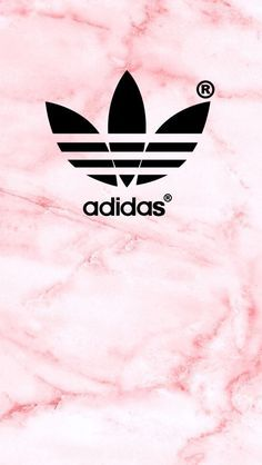 Adidas Logo Pink Texture iPhone 5 Wallpaper