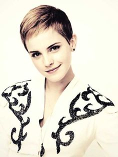 Short Straight Pixie Cut