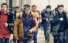 Exo (stylized as EXO; ; ) is a South Korean-Chinese K-pop boy band produced by S.M. Entertainment. Description from imgarcade.com. I searched for this on bing.com/images