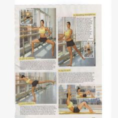 Great ballet workout moves! Lift.tone.burn