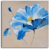 Found it at Wayfair - ''Heart of Gold Floral'' Hand Painted Canvas Art