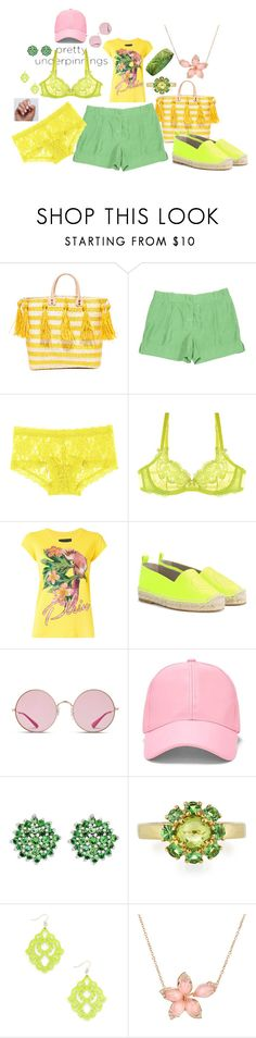"""""""Untitled #2312"""" by moestesoh ❤ liked on Polyvore featuring Mar y Sol, STELLA McCARTNEY, Hanky Panky, L'Agent By Agent Provocateur, Philipp Plein, Anya Hindmarch, Ray-Ban, Forever 21, BillyTheTree and Ippolita"""