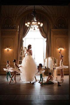 Gorgeous ethereal #wedding dress