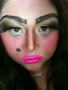 Bad Makeup | Bad Makeup Pictures on the Internet -- Beauty Riot - Sharpie Brows ...