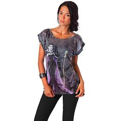Disney Villains Maleficent Tee for Women