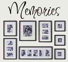 Memories Vinyl Lettering wall words graphics by itswritteninvinyl, $8.77