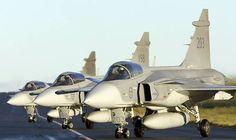 army Saab JAS-39A Gripen...