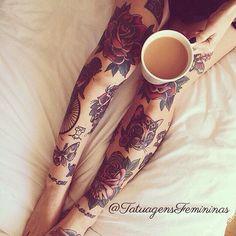 #TatuagensFemininas ☕️
