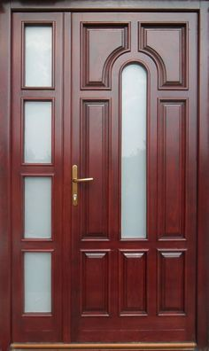 Solid Wood Interior Doors For Sale House Main Door Design, Wooden Front Door Design, Room Door Design, Wood Front Doors, Door Design Interior, Interior Doors, Door Design Images, Modern Wooden Doors, Rustic Doors