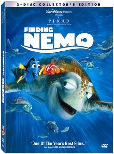 """Finding Nemo  -this is my all time favorite movie....""""Nemo, you think you can do these things but you can't"""" lmao!! I hear that in my head all the time when I try to do something I know nothing about!"""