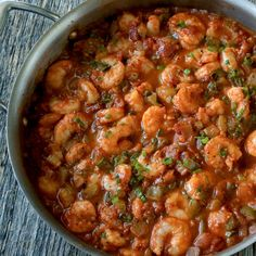 Spicy and packed with flavor, one-pan Creole shrimp is a quick and delicious meal for busy weeknights. You won't have a ton of dishes to wash! - Everyday Dishes & DIY