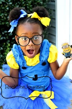 Hey, I found this really awesome Etsy listing at http://www.etsy.com/listing/160830272/minion-girl-tutu-costume-despicable-me