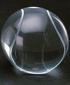 """Tennis Ball Paperweight 3.5"""" by Badash. $27.00. This Crystal tennis ball paperweight is hand crafted and measures 3 in diameter, with a round polished bottom. It would make a perfect gift for the coach, dad, or sportsman or woman in your life. ."""