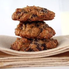 Oatmeal-Date-Chocolate Cookies