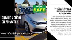 Looking for the best Driving School in Silverwater? Safe Driving School provides a quality driving lesson with the best team of professional driving instructors in Silverwater, Australia Driving Instructor, Driving School, Sydney Australia, Manual, Castle, Goals, Teaching, Textbook, Driving Training School