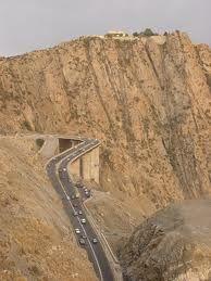 Highway through the mountains, Jeddah to Taif, Saudi Arabia
