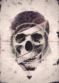 #skulls http://www.creativeboysclub.com/tags/we-love-skulls