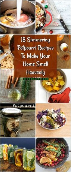 18 Simmering Potpourri Recipes To Make Your Home Smell Heavenly. Potpourri is so easy to make and it makes your house smell so good! Try making your own homemade potpourri today! Homemade Potpourri, Simmering Potpourri, How To Make Potpourri, House Smell Good, House Smells, Fall Scents, Home Scents, Scents For The Home, Pots